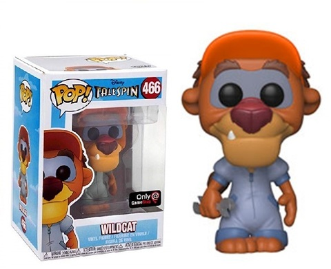 Фигурка Funko Pop! Disney: TaleSpin - Wildcat (Excl. to GameStop)