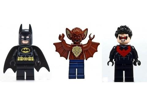 LEGO Super Heroes: Бэтмен: Атака человека-летучей мыши 76011 — Man-Bat Attack — Лего Супергерои ДиСи