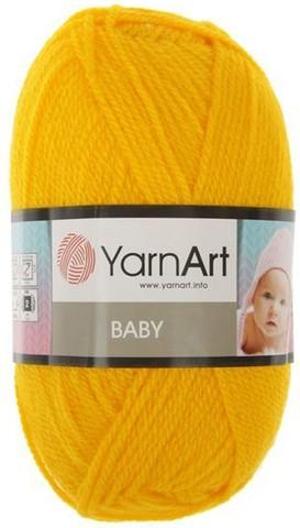 Пряжа YARNART BABY №32 желток