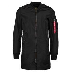 Куртка Alpha Industries L-2B Long W Black (Черная)