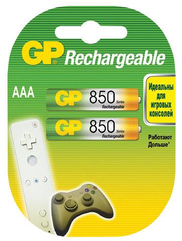 Аккумуляторы GP 85ААAHC-U2 Ni-MH ААA, R03, 1, 2V, 850mAh