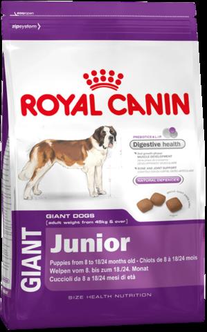 Royal Canin Giant Junior 17 кг