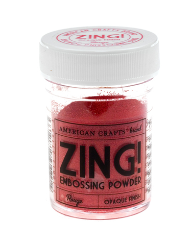 Пудра для эмбоссинга ZING! Rouge