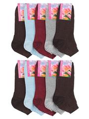 22 носки женские, цветные (10шт)