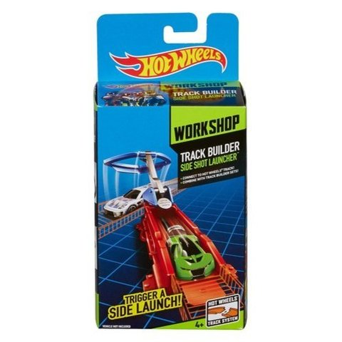 Hot Wheels Workshop Track Builder Side Shot Launcher