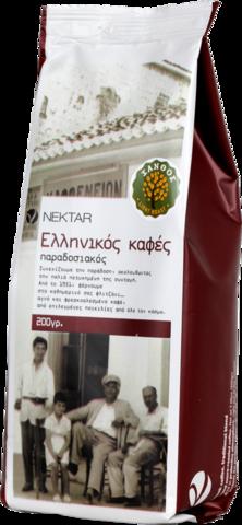 Греческий кофе легкой обжарки Nectar 200 гр.
