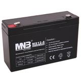 Аккумулятор MNB MS12-6 ( 6V 12Ah / 6В 12Ач ) - фотография