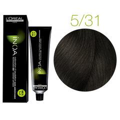 L'Oreal Professionnel INOA 5.31 (Светлый шатен золотистый пепельный) - Краска для волос