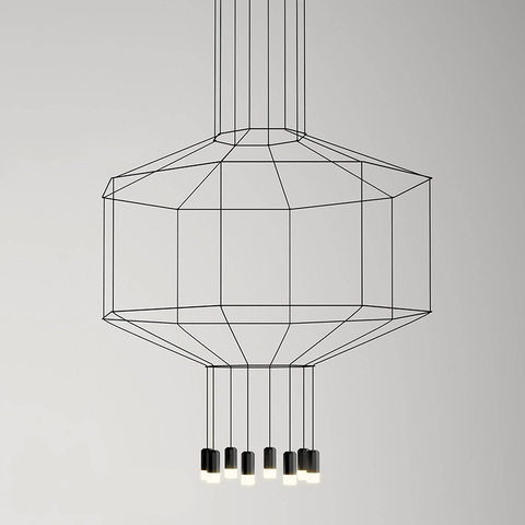 Подвесной светильник Vibia Wireflow octagon