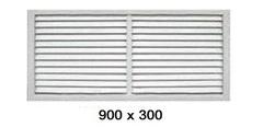 Решетка радиаторная 900*300мм Эра П9030Р