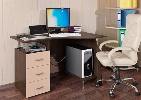 Компьютерный стол Лорд БТС Венге/лоредо