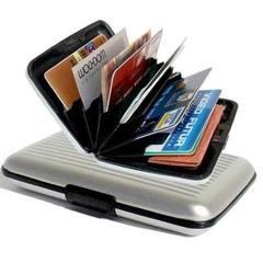Алюминиевый кошелек - визитница Aluma Wallet (Мультикард)
