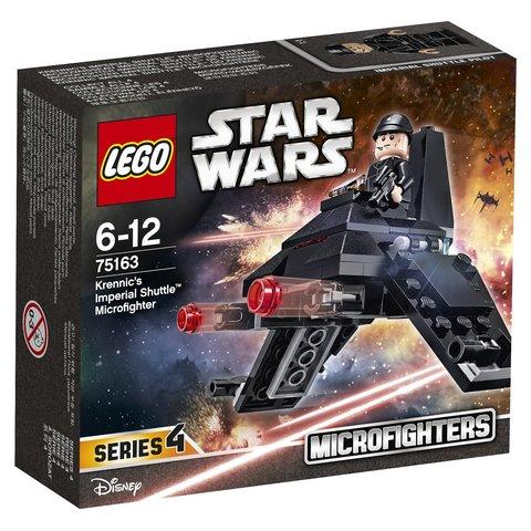 LEGO Star Wars: Микроистребитель Имперский шаттл Кренника 75163 — Krennic's Imperial Shuttle™ Microfighter — Лего Звездные войны Стар Ворз