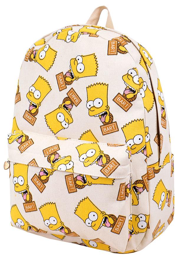 Рюкзак Simpson белый