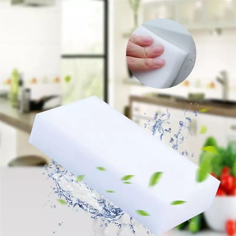 Набор меламиновых чудо губок для стирания пятен, 2 шт фото