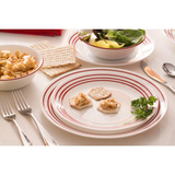 Тарелка закусочная 22 см Ruby Red, артикул 1114009, производитель - Corelle, фото 3