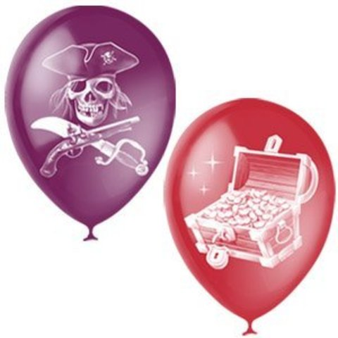 Шары из серии Пираты