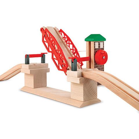 BRIO Разводной мост, длина 66.5см, 3 элемента