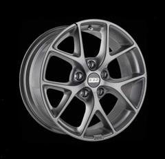 Диск колесный BBS SR 8x18 5x100 ET36 CB70.0 satin himalaya grey