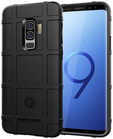 Чехол Samsung Galaxy S9 Plus цвет Black (черный), серия Armor, Caseport