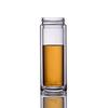 Стеклянная бутылка с двойными стенками для заваривания чая 350 мл