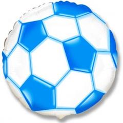 F Круг Футбольный мяч (синий), 18