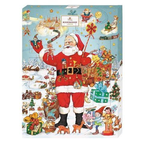 Рождественский адвент календарь с шоколадом