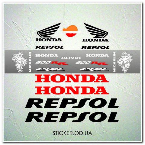 Набор наклеек  Honda