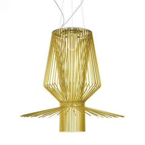 Подвесной светильник копия Allegretto Assai 2 by Foscarini (золотой)
