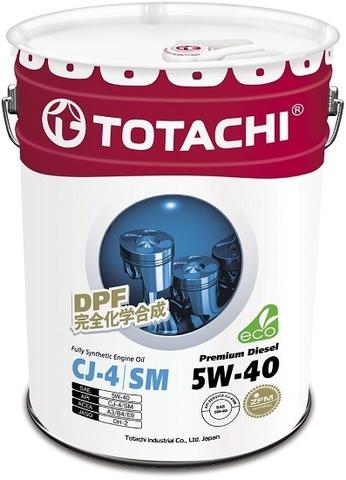 Premium Diesel 5W-40 TOTACHI масло дизельное моторное синтетическое (20 Литров)