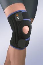Окутывающий коленный бандаж с усиленной боковой частью 7119