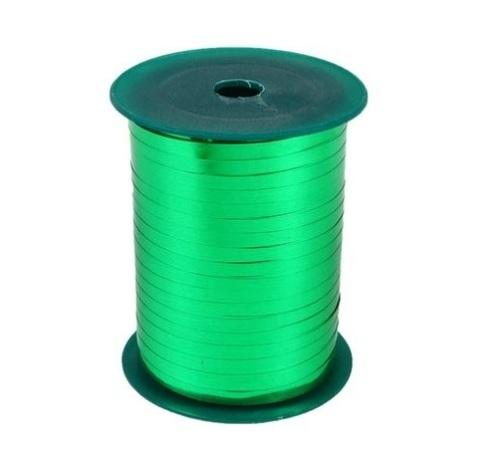 Лента металл на бобине Plastiflora (размер: 5мм х 250ярдов) Цвет:зелёная