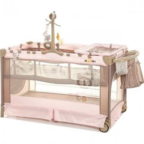 Манеж Noony Cubby Pink Lady