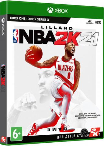 Xbox One NBA 2K21 (английская версия)