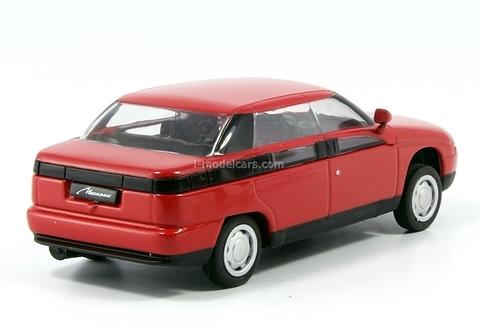 Moskvich-2143 Yauza red 1:43 DeAgostini Auto Legends USSR #125