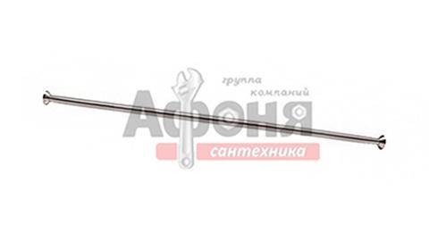 Карниз д/ванной  нержавейка прямой 1,7 м