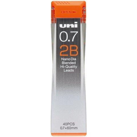 Грифели 0,7 мм Uni Nano Dia 2B