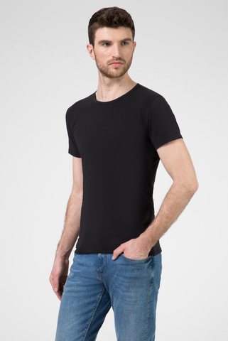 Мужская черная футболка (3 шт) Tommy Hilfiger