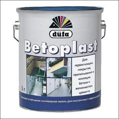 Эмаль для бетонных оснований Dufa BETOPLAST (серебристо-серая)