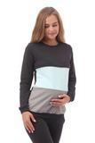 Спортивный костюм для беременных и кормящих 09909 антрацит