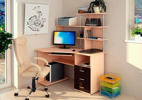Компьютерный стол Форест БТС Венге/лоредо