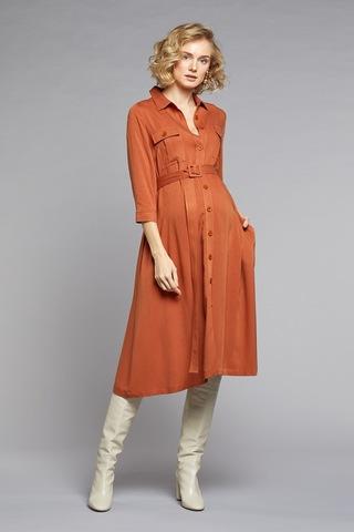 Платье для беременных 10772 песочный