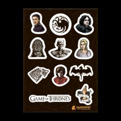 Набор стикеров Game of Thrones