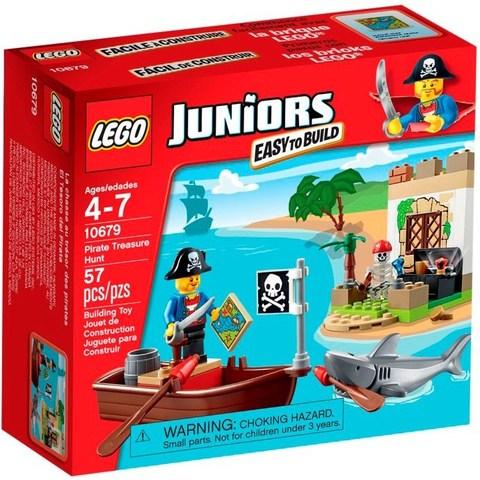 LEGO Juniors: Охота за сокровищами 10679 — Pirate Treasure Hunt — Лего Джуниорс Подростки