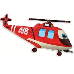 F Мини фигура Вертолет спасательный / Rescue Helicopter (14