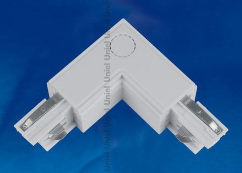 UBX-A22 SILVER 1 POLYBAG Соединитель для шинопроводов L-образный. Внутренний. Трехфазный. Цвет — серебряный. Упаковка — полиэтиленовый пакет.
