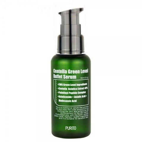 PURITO Сыворотка с центеллой PURITO Centella Green Level Buffet Serum 60ml