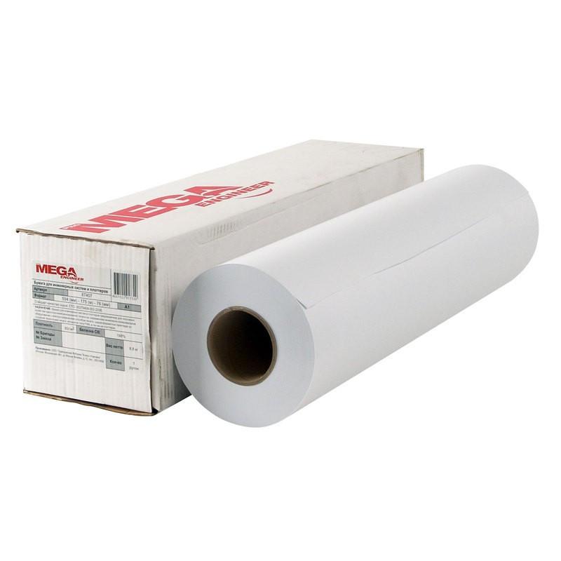 Бумага широкоформатная ProMEGA engineer InkJet 80г 440ммх175 76мм