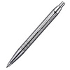 Parker IM Premium - Shiny Chrome Chiselled CT, шариковая ручка, M