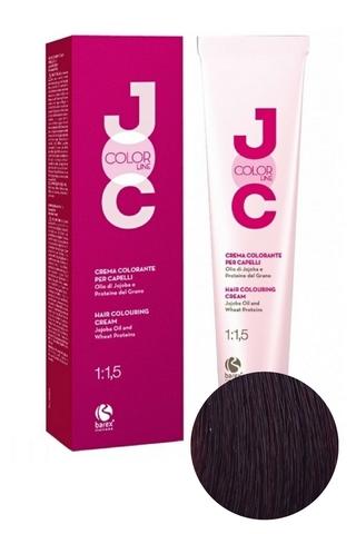 Крем-краска для волос 6.5 темный блондин махагоновый JOC COLOR, Barex